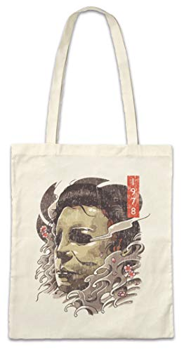 Urban Backwoods Michael Mask Portrait Boodschappentas Schoudertas Shopping Bag