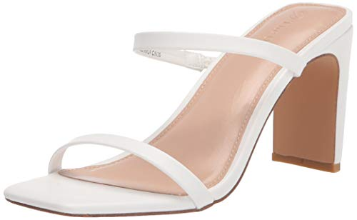 The Drop - Avery - Sandali Con Tacco Alto A Due Cinturini, Heeled Sandal Donna