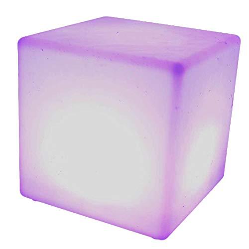 The Block Large Led Illuminated Cube