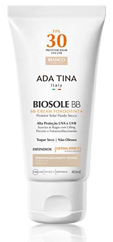 Protetor Solar Biosole BB Cream FPS 30 Bianco, Ada Tina