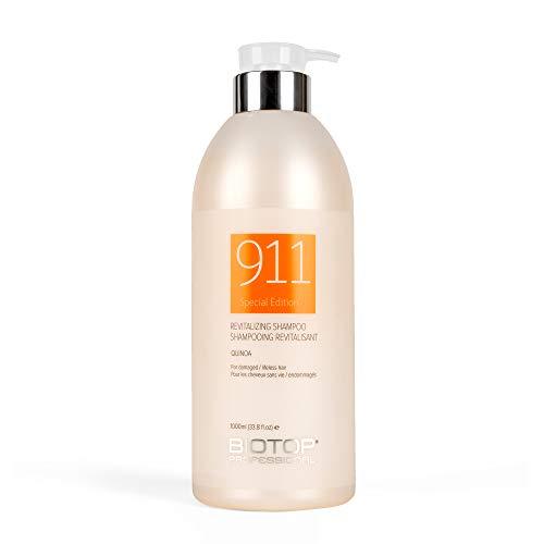 911 Quinoa Shampoo for Dry, Lifeless, and Damaged Hair, 33.8 oz – Biotop Professional Nevada