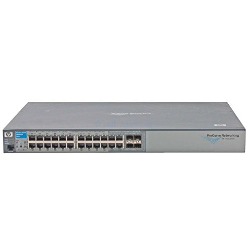 HP ProCurve J9021A, 2810-24G, 24+4 Port 10/100/1000 Ethernet-Switch, NEUW. LESEN