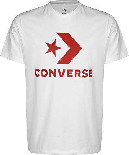 Converse Star Chevron tee White - Camiseta, Hombre, Blanco(White)