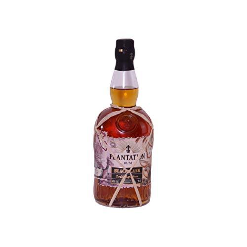 Plantation Rum BLACK CASK Barbados & Peru Double Aged Rum 40% Volume 0,7l Rum