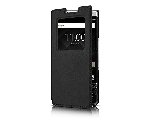 Blackberry Keyone Black Smart Flip Case - FCB100