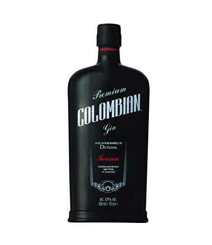 Dictador Colombian Gin Treasure 43{36e8a979547c172e26735a07caf18ed3b714d4207444054af734f2715493770f}, 1 x 0,7 l