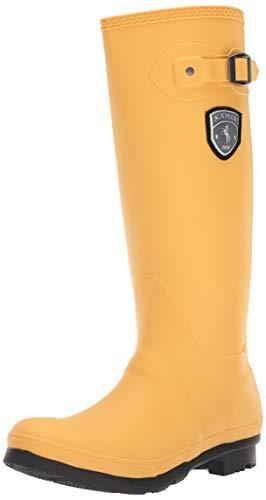 Kamik Women's Jennifer Rain Boot, Mustard, 8 M US
