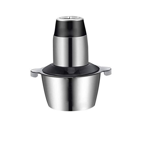 YWSZJ Eléctrica máquina de Picar Alimentos, Robot de Cocina con Revestimiento de Titanio y Acero Inoxidable Cuchillas Bowl, Velocidad de Cocina for Picar Carne