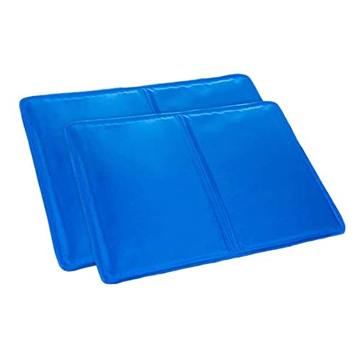 Glossia 2 Pieces of Cool and Refreshing Multifunctional Ice Pads Help Improve Sleep Quality