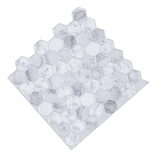 GARNECK Empapelado de Azulejos en 3D Paneles de Pared Decorativos en 3D Paneles de Pared Autoadhesivos Autoadhesivos para Pared contra Salpicaduras para Sala de Estar Decoración de Pared