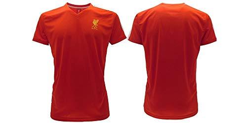 Camiseta oficial del Liverpool F.C. SR0617A-46-LFC, rojo, 10-11 anni