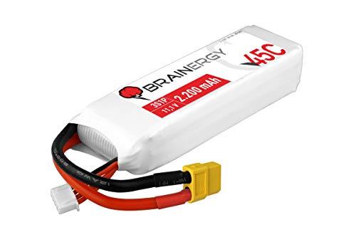 Brainergy Lipo Accu 2200mAh 3S 30c 11.1V LiPo Accu T-Plug