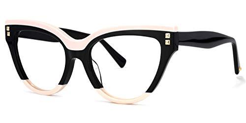 Voogueme Gato Ojo Negro Azul Gafas Bloqueadoras de Luz para Mujer Dalila GOA01858-02