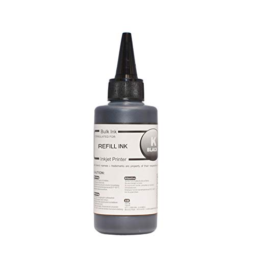 Cabeza de impresora For Canon 545546 Impresora Tinta Canon PG540 CL541 XL PIXMA MG2950 MG2550 MX495 IP2850 MG2450 MG2550S bandeja de impresora (Color : 100ml black ink)