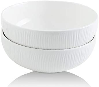 2-Set Koov 2.4 Quarts Porcelain Big Salad Bowl
