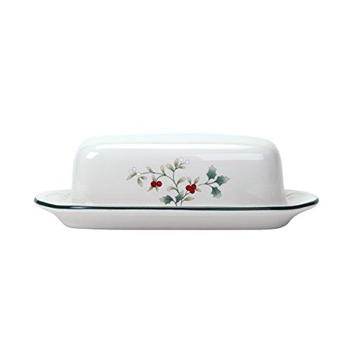 Pfaltzgraff Winterberry Covered Butter Dish Dinnerware Set, Assorted