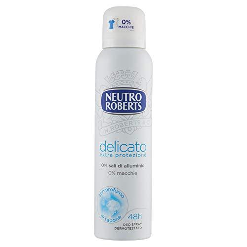 Neutro Roberts - Desodorante en spray suave extra protección – 150 ml