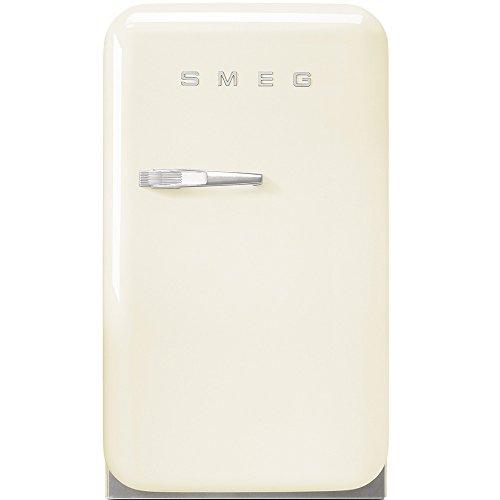 Réfrigérateur encastrable Smeg FAB5RCR - Minibar - 31 litres - Froid statique - Dégivrage automatique - Crème - Classe D / Pose libre