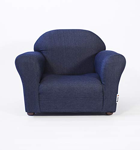 KEET Roundy Kid's Chair Denim, Blue
