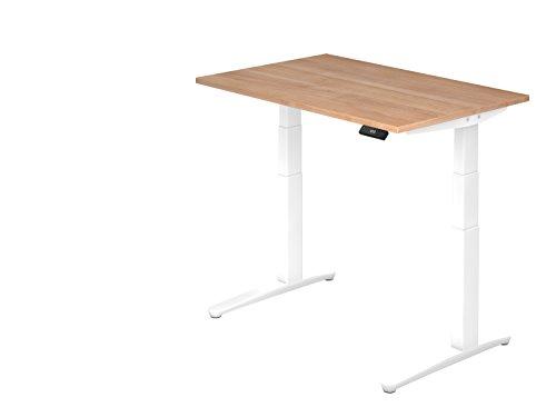 Asiento de pie de escritorio el.120x 80cm nussb/Color Blanco
