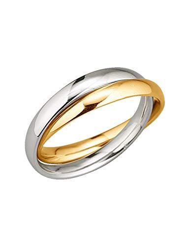 KLiNGEL Damen 375 Gelbgold Ring in Gelbgoldfarbenmit in und in und in