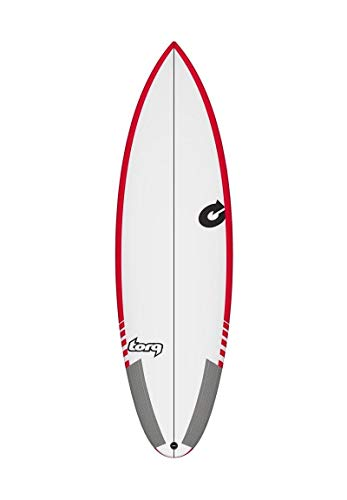 TORQ Tabla de surf Epoxy TEC Thruster 6.3 Rail Performance Shortboard
