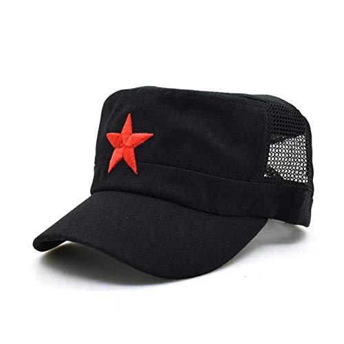 Kommunistische Mütze Kappen Hüte Männer Red Star Army Mütze Männer Brigaden Flat Top Coole Armee Militärhut Mützen Mann