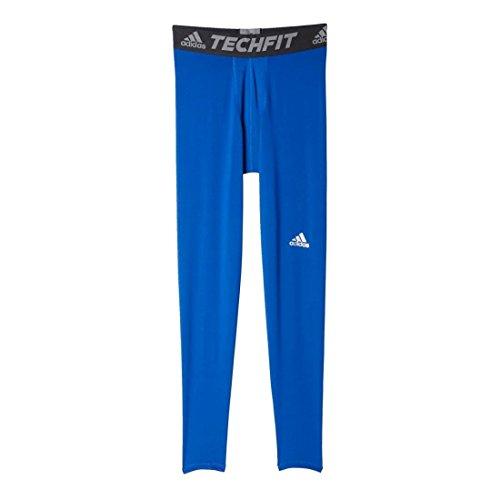 Men's Adidas Techfit Tight Base-Layer, Royal, 4XL