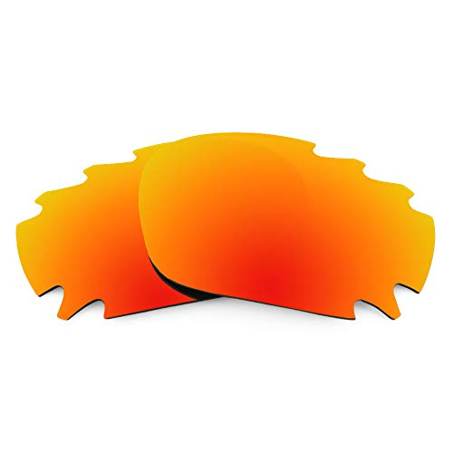 Revant Replacement Lenses Compatible With Oakley Racing Jacket Vented, Polarized, Fire Red MirrorShield