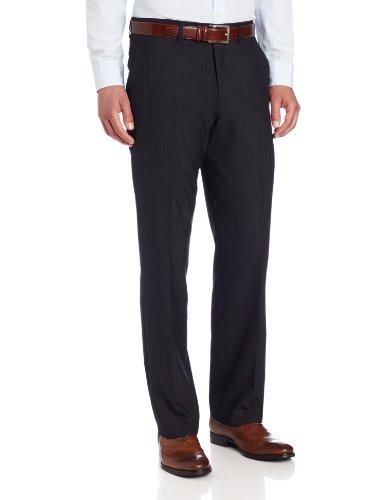 Kenneth Cole Unlisted Men's Gray Stripe Suit Pant