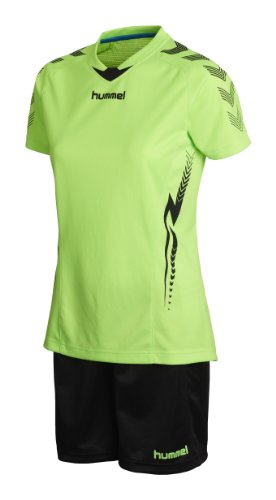 hummel Damen Trikot-Set Aw13 Training Kit Women, Green Gecko, S, 06-087-6595