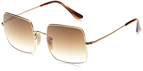 Ray-Ban RB1971 Square Sunglasses, Gold/Brown Gradient, 54 mm
