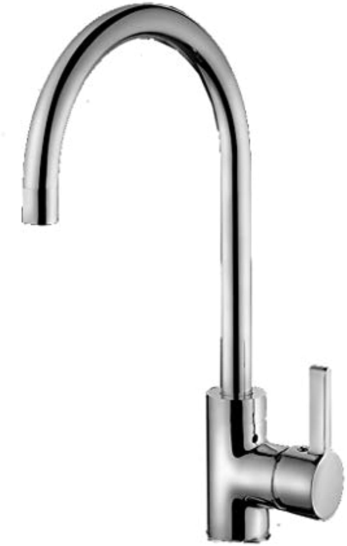 QXHELI Wasserhahn Küche Wasserhahn alle Bronze heien und kalten Wasserhahn Waschbecken Waschbecken Armatur Küchenarmatur Rotary Wasserhahn
