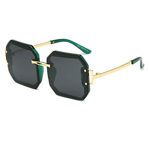 VBNM Gafas de Sol polarizadas para Mujer, Elegante diseño Cuadrado, protección UV400, protección UV/antideslumbrante, Lentes TAC polarizadas de Alta definición, Gafas de Seguridad, Muchas Opcionales