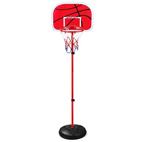 Soporte de baloncesto de altura ajustable, soporte de baloncesto ajustable para exteriores para adultos y niños, soporte de baloncesto de altura ajustable para interiores y exteriores, baloncesto * 3,