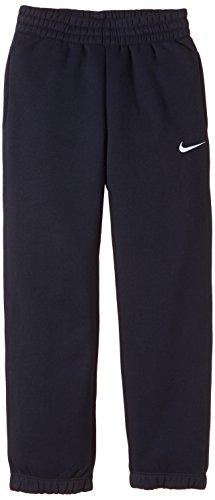 Nike Pile Pantaloni TS, Bambino, Nero_Blu_Bianco, L