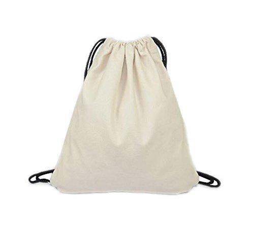LAAT Bolsa mochila tela algodón unisex niños adolescentes