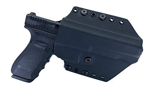 Watchdog Tactical, Glock 40 Holster, Right-Handed, Black, OWB/IWB