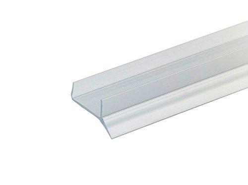 Pihami 8 €/m Sockeldichtprofil Küche Sockeldichtlippe 2500x16mm Kunststoff transparent für Küchenblende