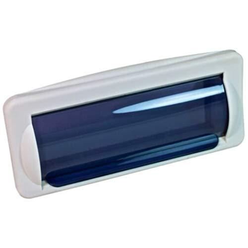 Boitier protection autoradio stéréo imperméable 1 Din Bass Face Acc.1 blanc pour bateau piscine usage nautique