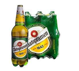 Zlatopramen XL Maxi 6 x 1,5l Flasche - original Bier aus Tschechien inkl. 1,50€ Pfand EINWEG