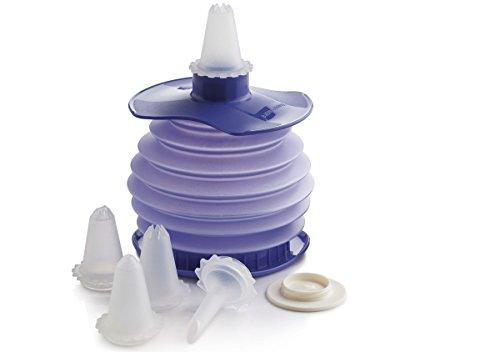 Tupperware Deko-Biene, Kunststoff, lila, 8.2 x 10 x 7.2 cm, 7-Einheiten