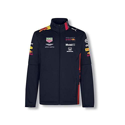 Red Bull Racing Official Teamline Chaqueta Softshell, Azul Niños 5 añosChaqueta Impermeable, Racing Aston Martin Formula 1 Team Original Ropa & Accesorios