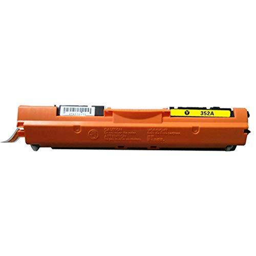 Compatibel met Hpce350a Color Toner Cartridge, Geschikt voor Printer Hp Color Laserjet Pro MFP M177fw Toner Cartridge 4 Kleur Optioneel, Echte benodigdheden size Geel