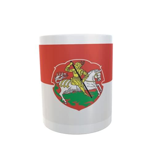 U24 Tasse Kaffeebecher Mug Cup Flagge Bensheim