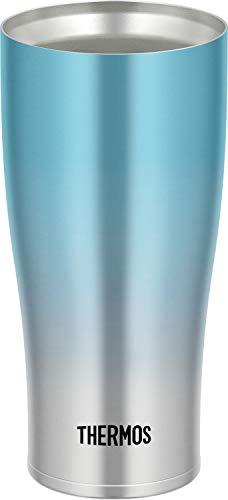 サーモス 真空断熱タンブラー 420ml ブルーフェード JDE-421C BL-FD