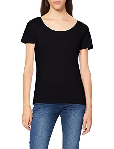 Esprit 999ee1k815 T-Shirt, Noir (Black 001), Large Femme
