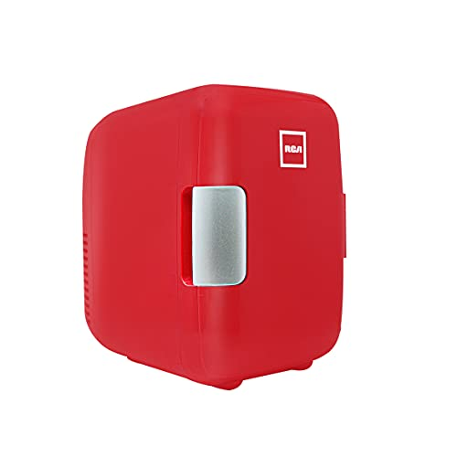 RCA Mini Refrigerador Rc-4R, 4 l, Rojo,,