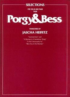 PORGY + BESS - TRANSCRIPTIONS - geregeld voor viool - piano [noten / Sheetmusic] Componis: GERSHWIN GEORGE