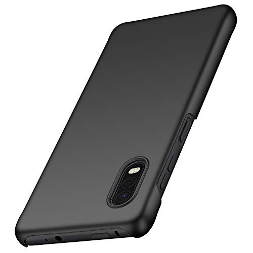 anccer Samsung Galaxy Xcover Pro Hülle, [Serie Matte] Elastische Schockabsorption & Ultra Thin Design für Samsung Galaxy Xcover Pro (Schwarzes)